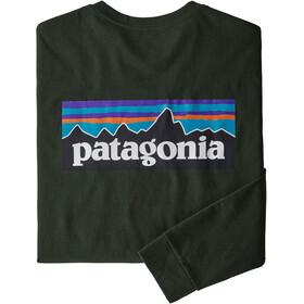 Patagonia P-6 Logo LS Responsibili Tee Men kelp forest